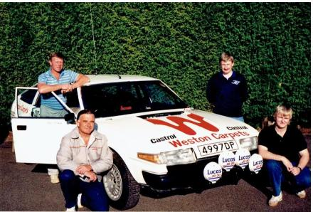 Clive Taylor - Rover Team
